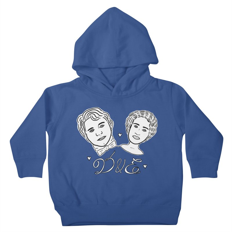 Darcy & Elizabeth Kids Toddler Pullover Hoody by TenEastRead's Artist Shop