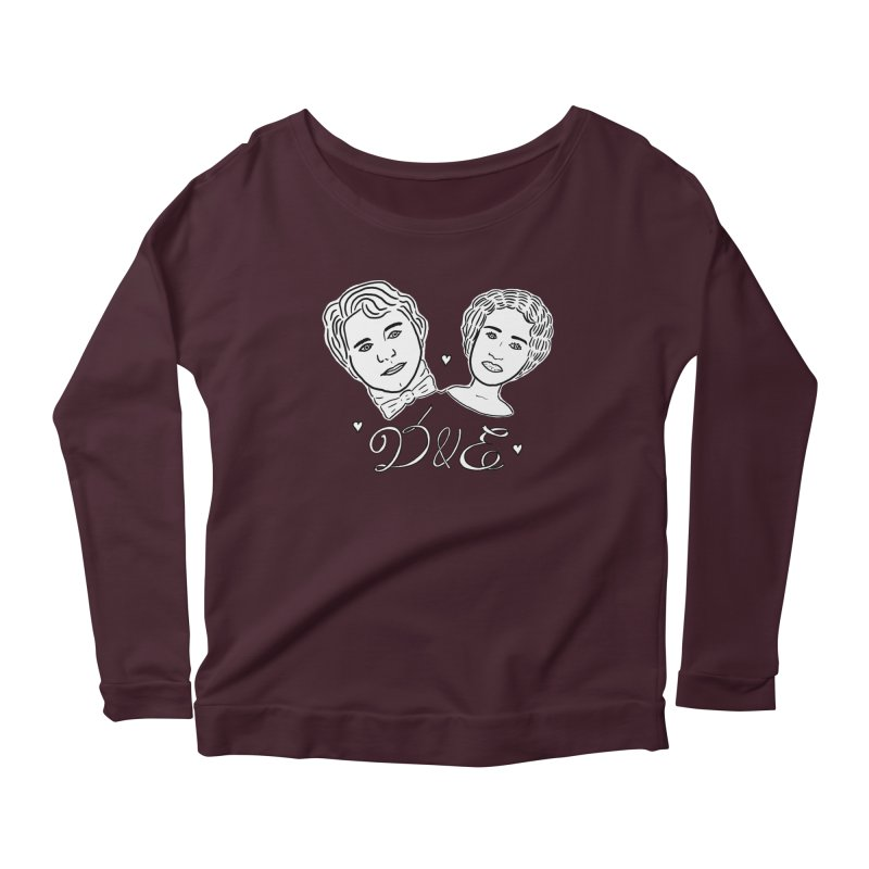 Darcy & Elizabeth Women's Scoop Neck Longsleeve T-Shirt by TenEastRead's Artist Shop