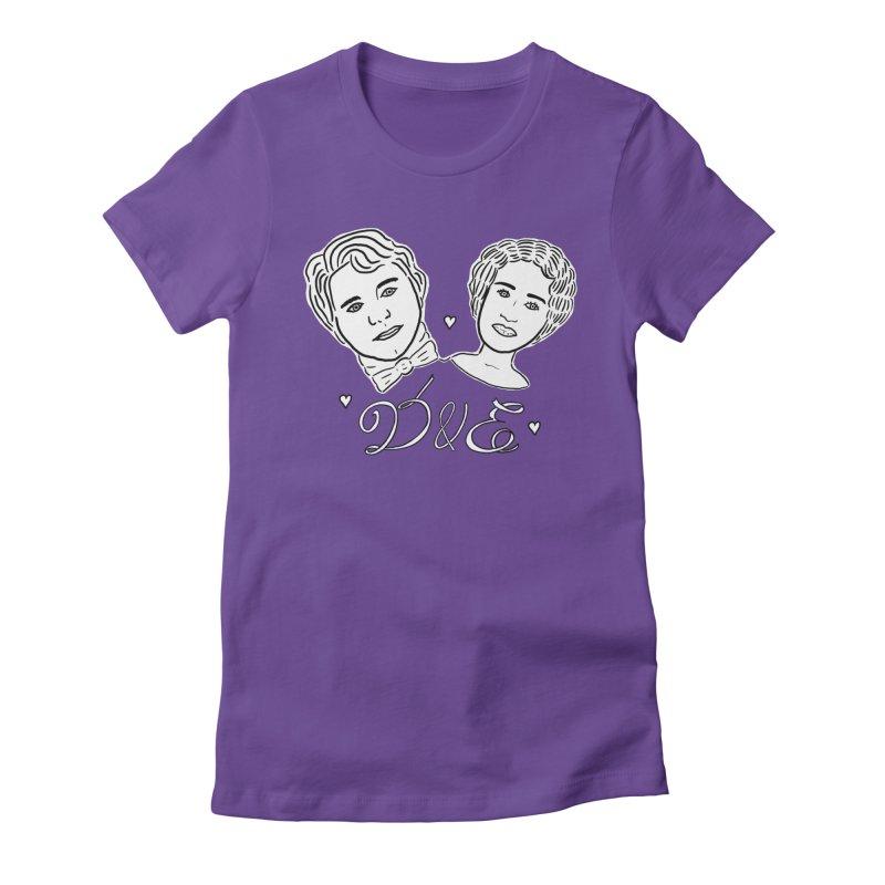 Darcy & Elizabeth Women's Fitted T-Shirt by TenEastRead's Artist Shop