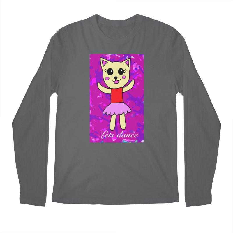 Ballerina cat Men's Longsleeve T-Shirt by Teresa's design's Artist Shop