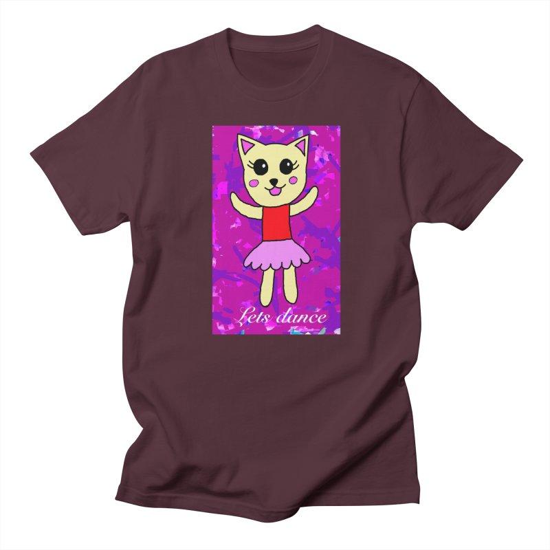 Ballerina cat Men's T-shirt by Teresa's design's Artist Shop