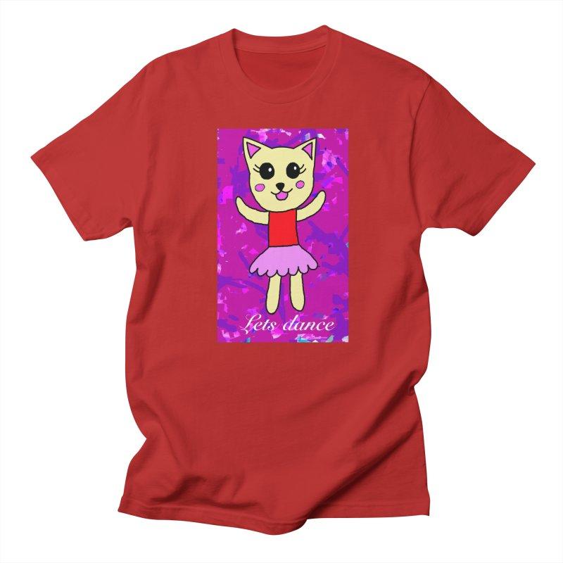 Ballerina cat Women's Unisex T-Shirt by Teresa's design's Artist Shop