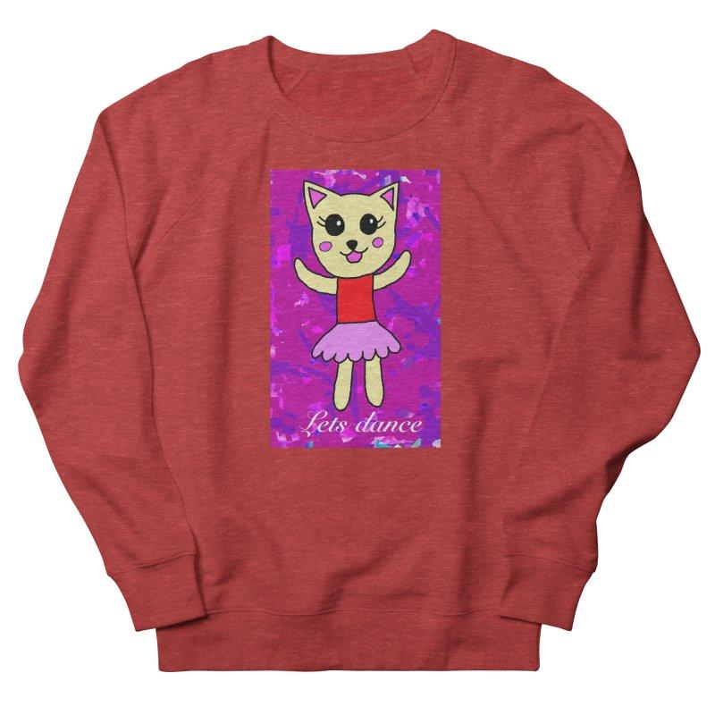 Ballerina cat Women's Sweatshirt by Teresa's design's Artist Shop