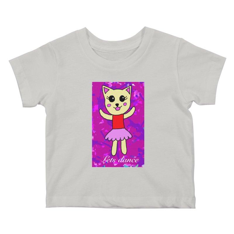 Ballerina cat Kids Baby T-Shirt by Teresa's design's Artist Shop