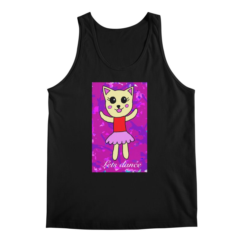 Ballerina cat Men's Tank by Teresa's design's Artist Shop