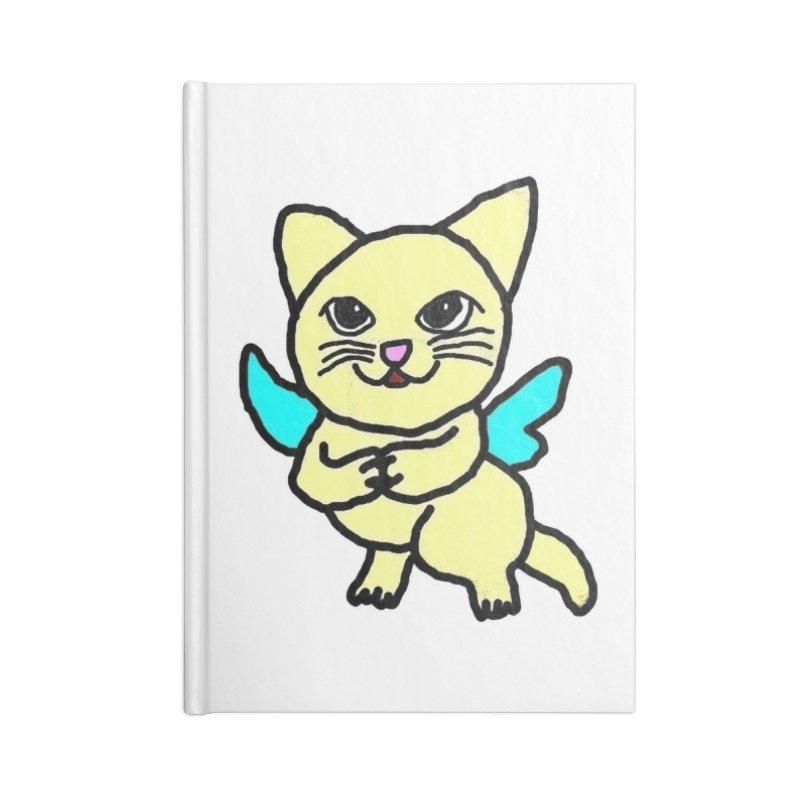 Fairy cat Accessories Notebook by Teresa's design's Artist Shop