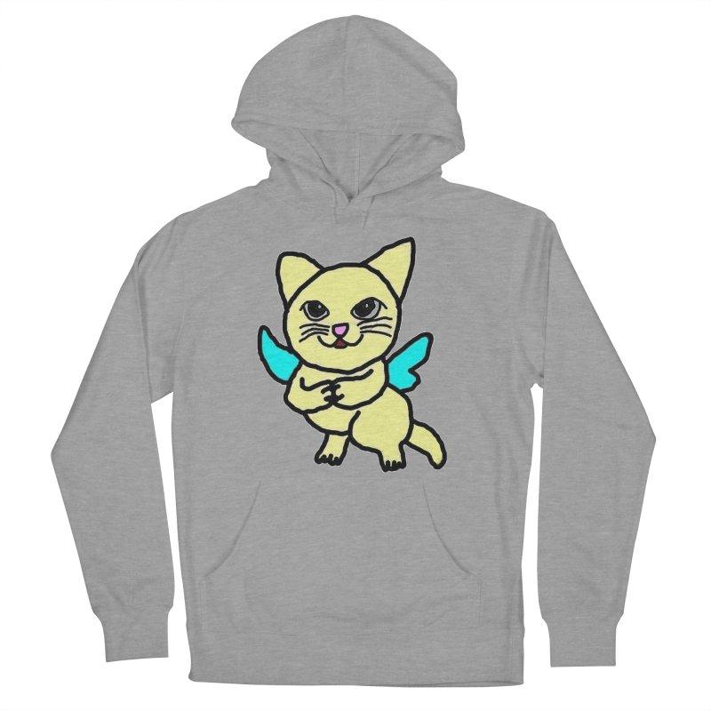 Fairy cat Women's Pullover Hoody by Teresa's design's Artist Shop