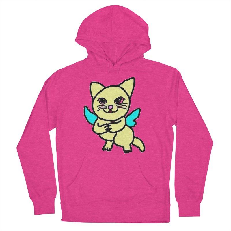 Fairy cat Men's Pullover Hoody by Teresa's design's Artist Shop