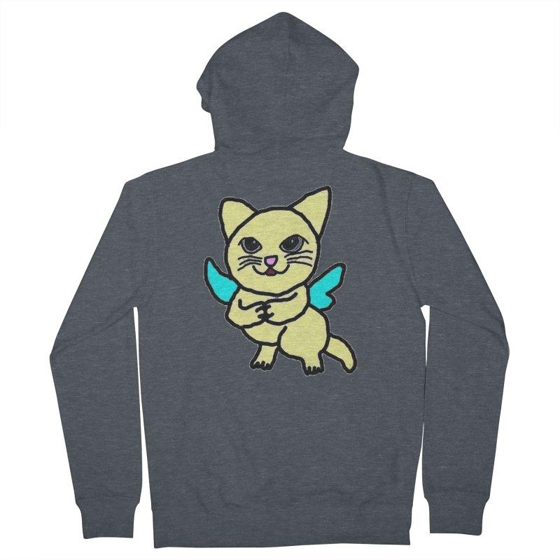 Fairy cat Women's Zip-Up Hoody by Teresa's design's Artist Shop