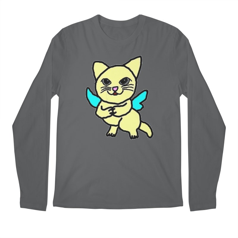 Fairy cat Men's Longsleeve T-Shirt by Teresa's design's Artist Shop