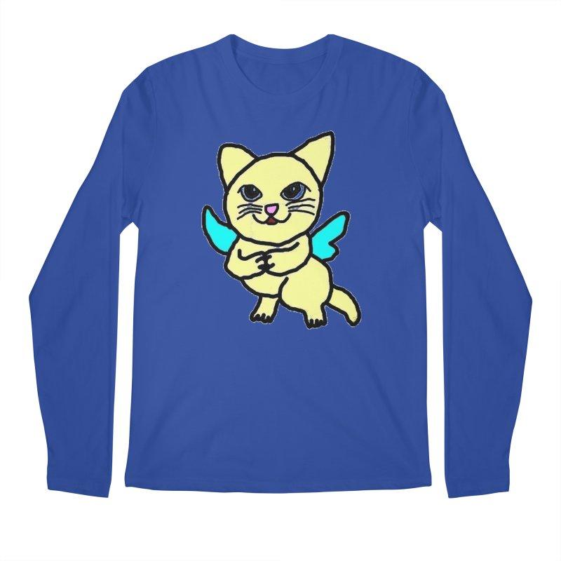 Fairy cat Men's Longsleeve T-Shirt by Teresa's design's Artist Shop