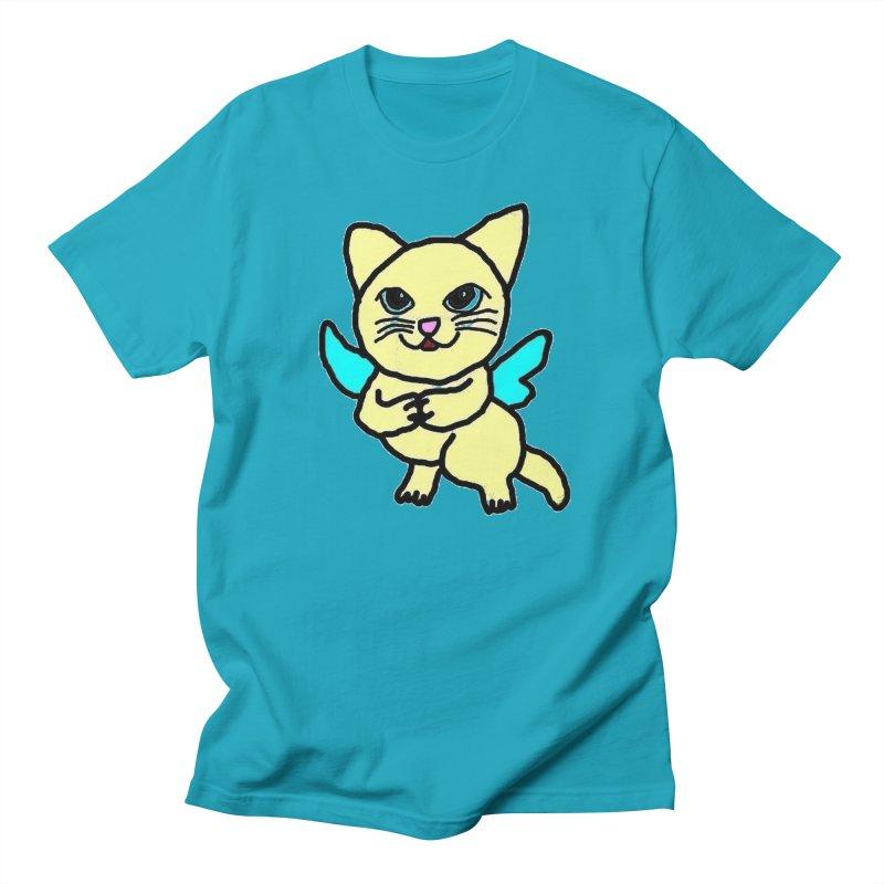 Fairy cat Women's Unisex T-Shirt by Teresa's design's Artist Shop