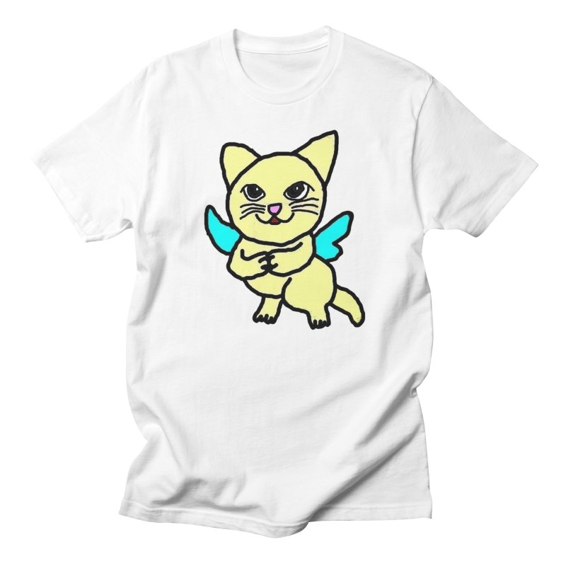 Fairy cat Men's T-Shirt by Teresa's design's Artist Shop