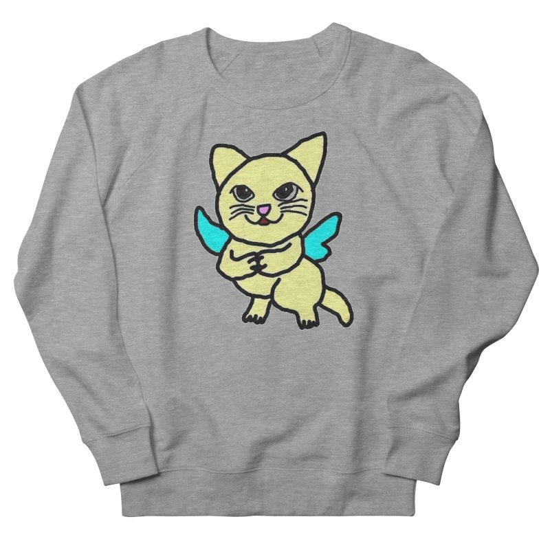 Fairy cat Women's Sweatshirt by Teresa's design's Artist Shop