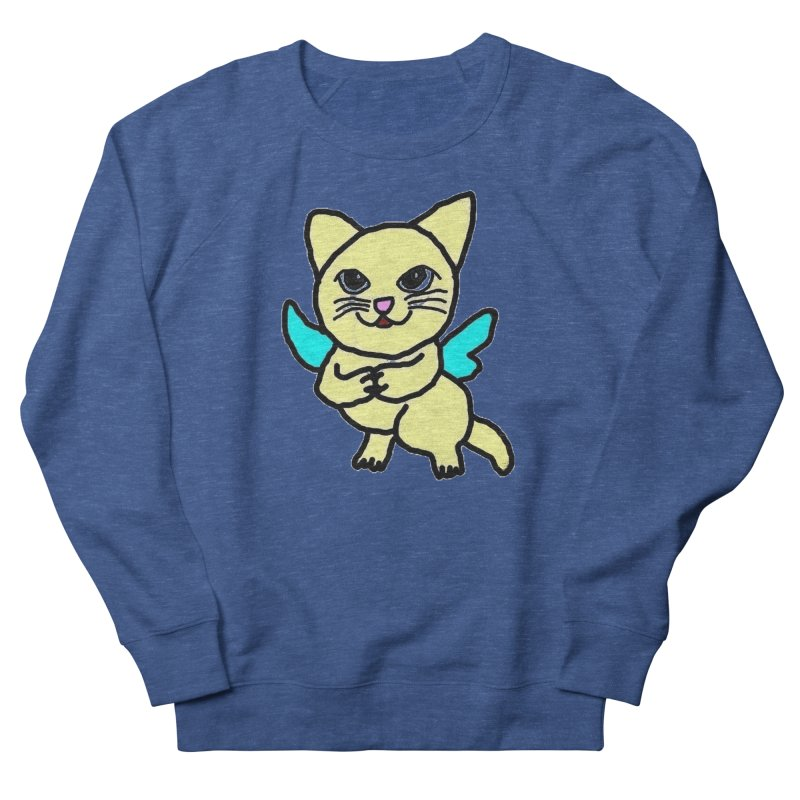 Fairy cat Men's Sweatshirt by Teresa's design's Artist Shop