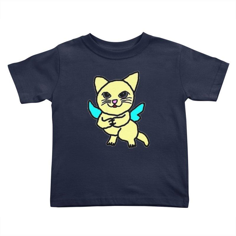 Fairy cat Kids Toddler T-Shirt by Teresa's design's Artist Shop
