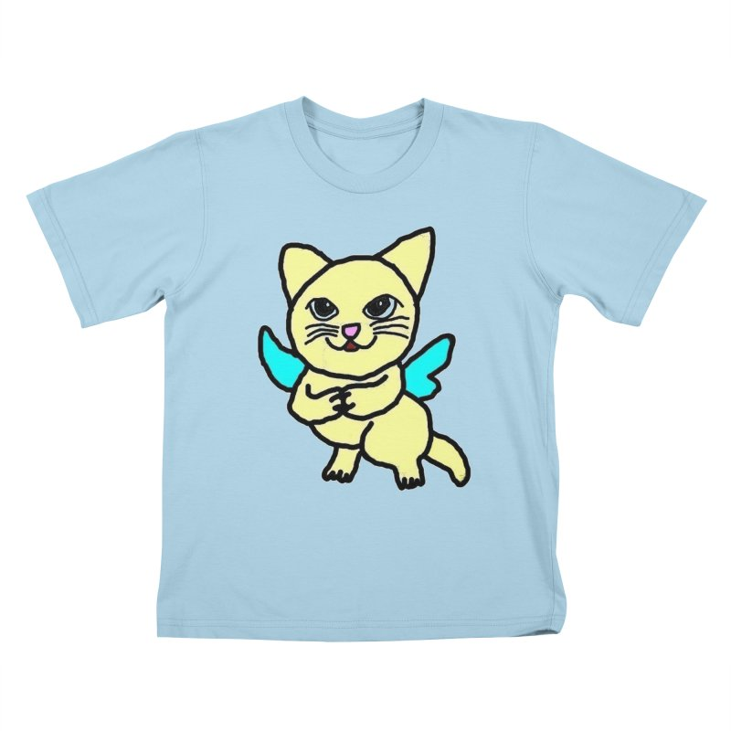 Fairy cat Kids T-Shirt by Teresa's design's Artist Shop