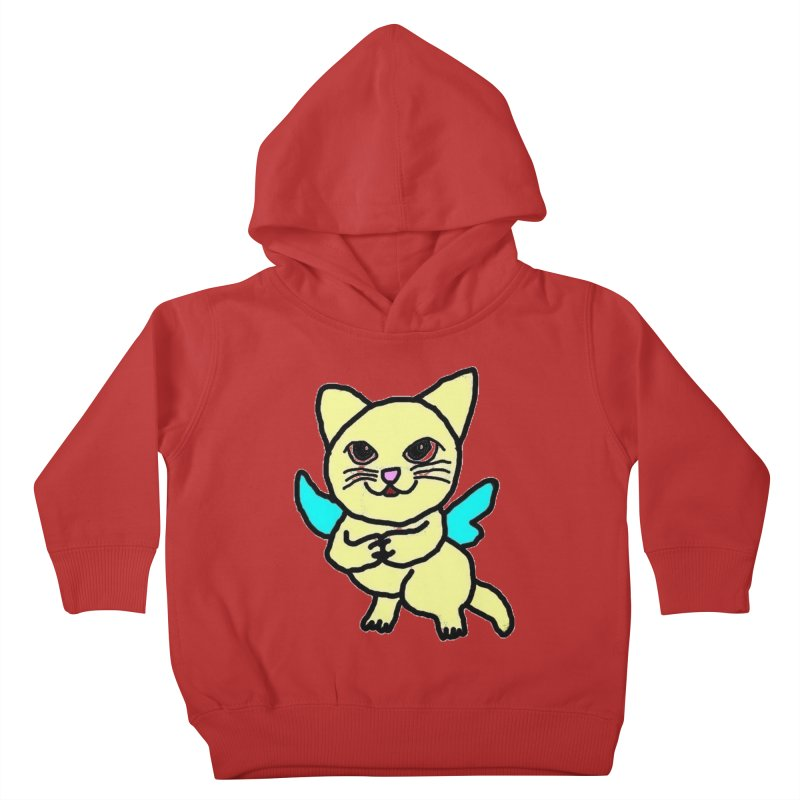 Fairy cat Kids Toddler Pullover Hoody by Teresa's design's Artist Shop