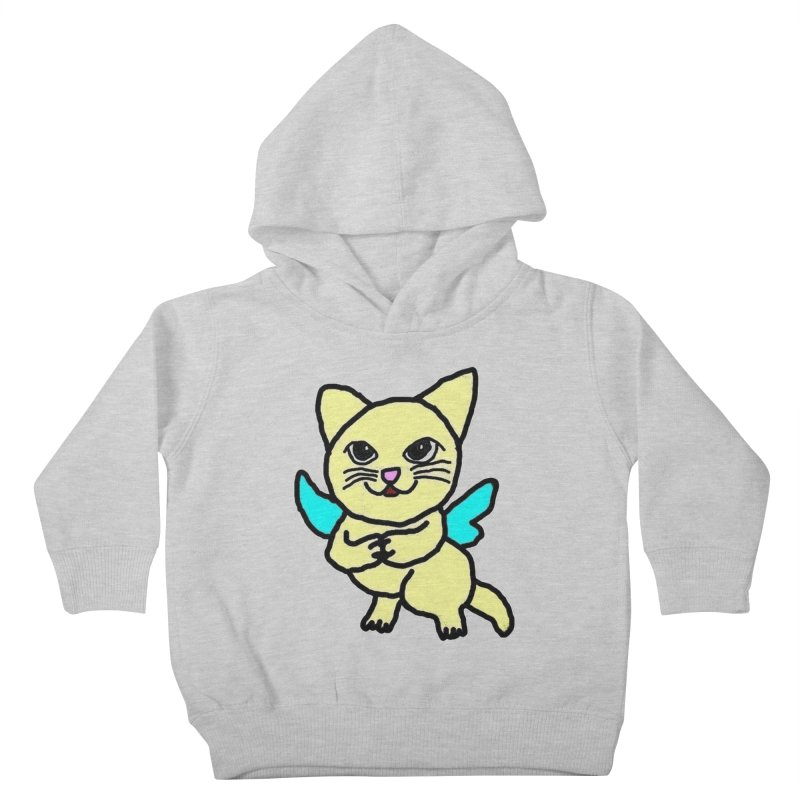 Fairy cat Kids Toddler Pullover Hoody by Teresa's design's Artist Shop