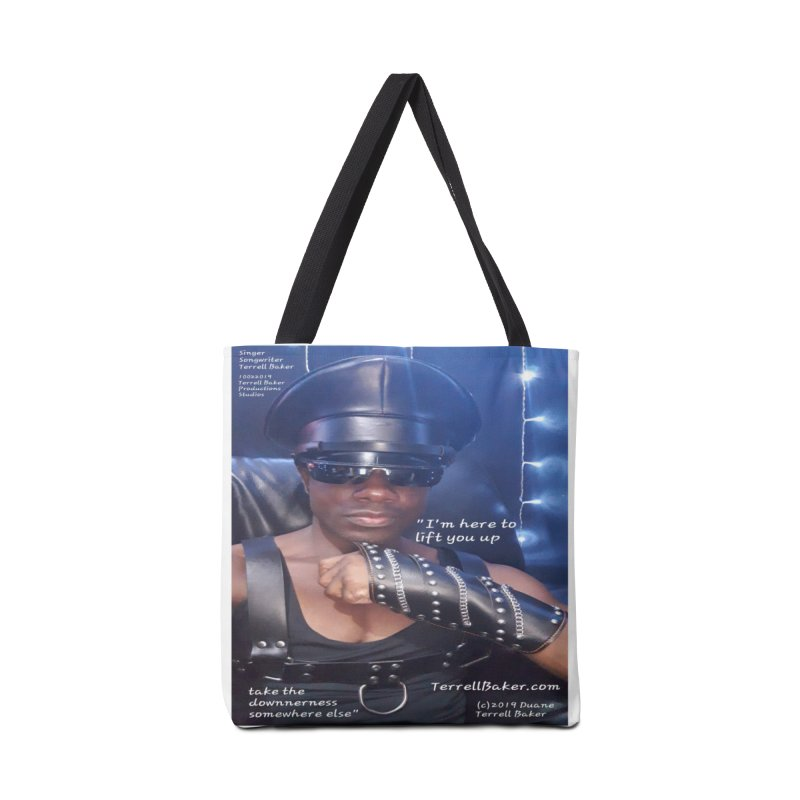 TerrellBaker_ImHereToLiftYouUp_LyricPromoArtwork10022019_4200_4800_ImHereAlbum Accessories Tote Bag Bag by Duane Terrell Baker - Authorized Artwork, etc