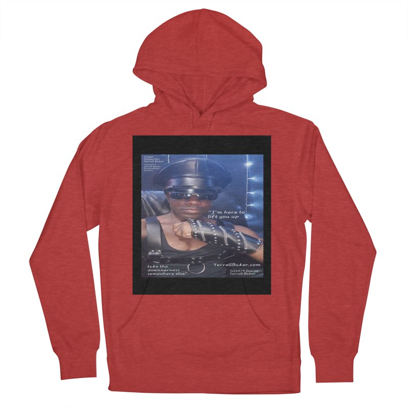 TerrellBaker_ImHereToLiftYouUp_LyricPromoArtwork10022019_3397_4481_ImHereAlbum Women's French Terry Pullover Hoody by Duane Terrell Baker - Authorized Artwork, etc