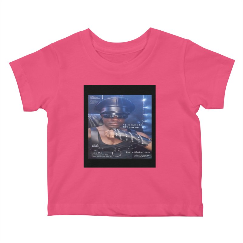 TerrellBaker_ImHereToLiftYouUp_LyricPromoArtwork10022019_3397_4481_ImHereAlbum Kids Baby T-Shirt by Duane Terrell Baker - Authorized Artwork, etc