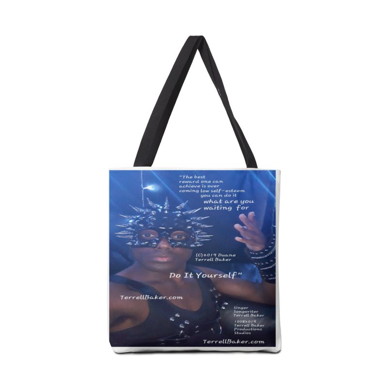 DoItYourself_LyricPromoArtwork10082019_4200_4800_ImHereAlbum Accessories Tote Bag Bag by Duane Terrell Baker - Authorized Artwork, etc