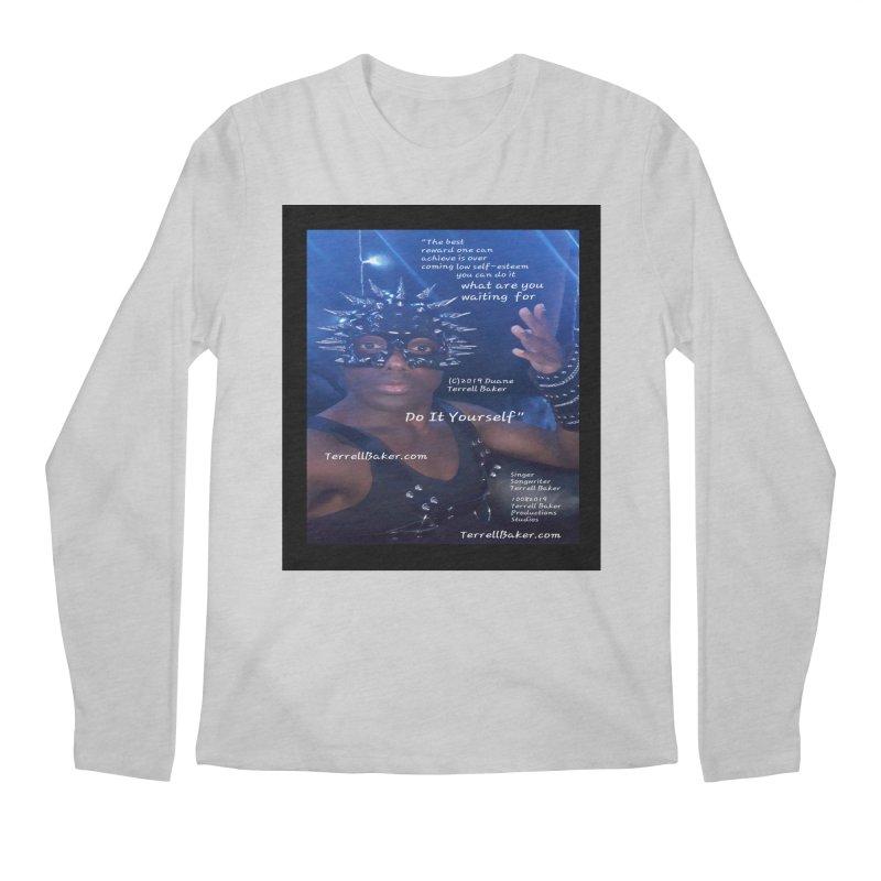 DoItYourself_LyricPromoArtwork10082019_4200_4800_ImHereAlbum Men's Regular Longsleeve T-Shirt by Duane Terrell Baker - Authorized Artwork, etc