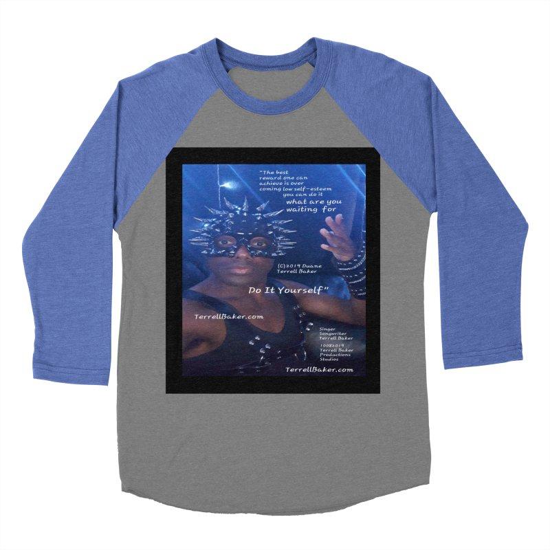 DoItYourself_LyricPromoArtwork10082019_4200_4800_ImHereAlbum Men's Baseball Triblend Longsleeve T-Shirt by Duane Terrell Baker - Authorized Artwork, etc