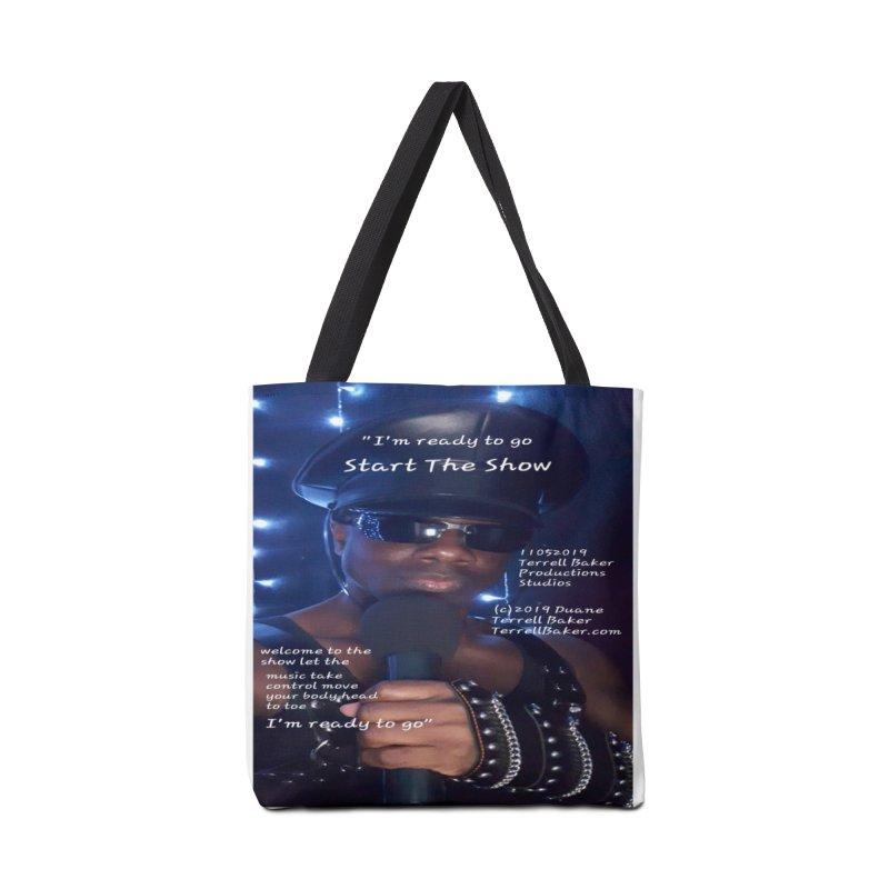 TerrellBaker_StartTheShow_LyricPromoArtwork11052019_4200_4800_ImHereAlbum Accessories Tote Bag Bag by Duane Terrell Baker - Authorized Artwork, etc