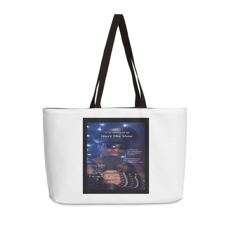 TerrellBaker_StartTheShow_LyricPromoArtwork11052019_3897_4481_ImHereAlbum Accessories Weekender Bag Bag by Duane Terrell Baker - Authorized Artwork, etc