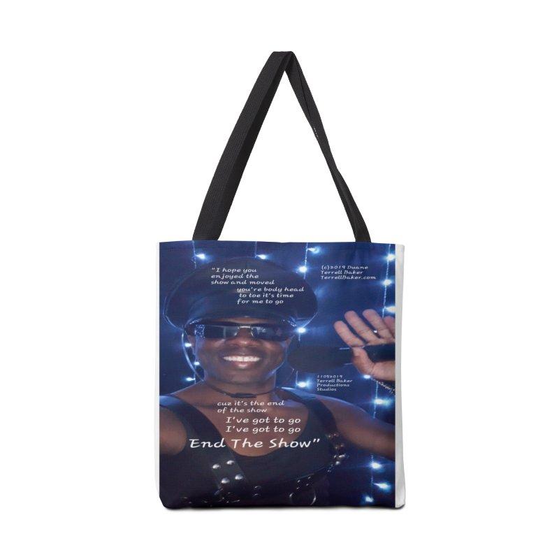 TerrellBaker_EndTheShow_LyricPromoArtwork11052019_4200_4800_ImHereAlbum Accessories Tote Bag Bag by Duane Terrell Baker - Authorized Artwork, etc