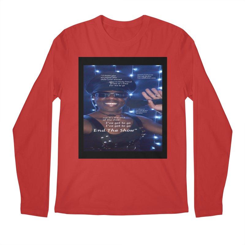 TerrellBaker_EndTheShow_LyricPromoArtwork11052019_3897_4481_ImHereAlbum Men's Regular Longsleeve T-Shirt by Duane Terrell Baker - Authorized Artwork, etc