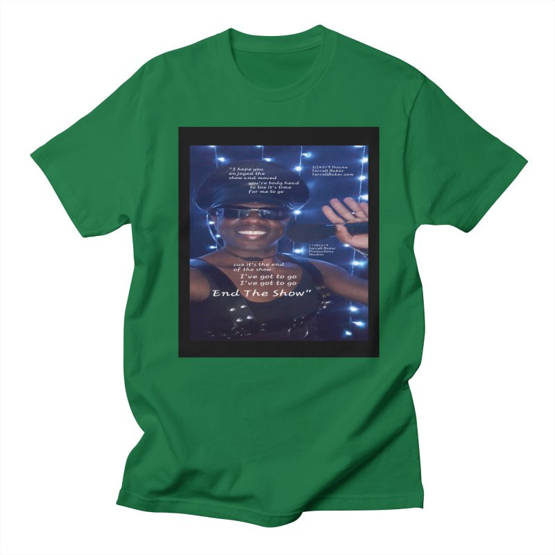 TerrellBaker_EndTheShow_LyricPromoArtwork11052019_3897_4481_ImHereAlbum Men's Regular T-Shirt by Duane Terrell Baker - Authorized Artwork, etc