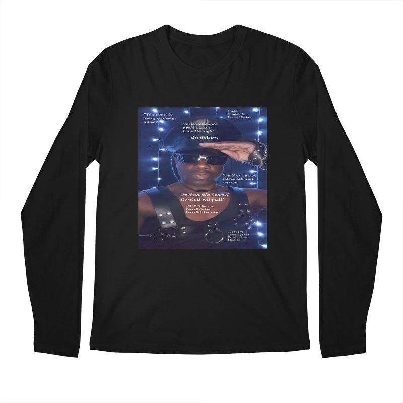 TerrellBaker_UnitedWeStand_LyricPromoArtwork11052019_3897_4481_ImHereAlbum Men's Regular Longsleeve T-Shirt by Duane Terrell Baker - Authorized Artwork, etc