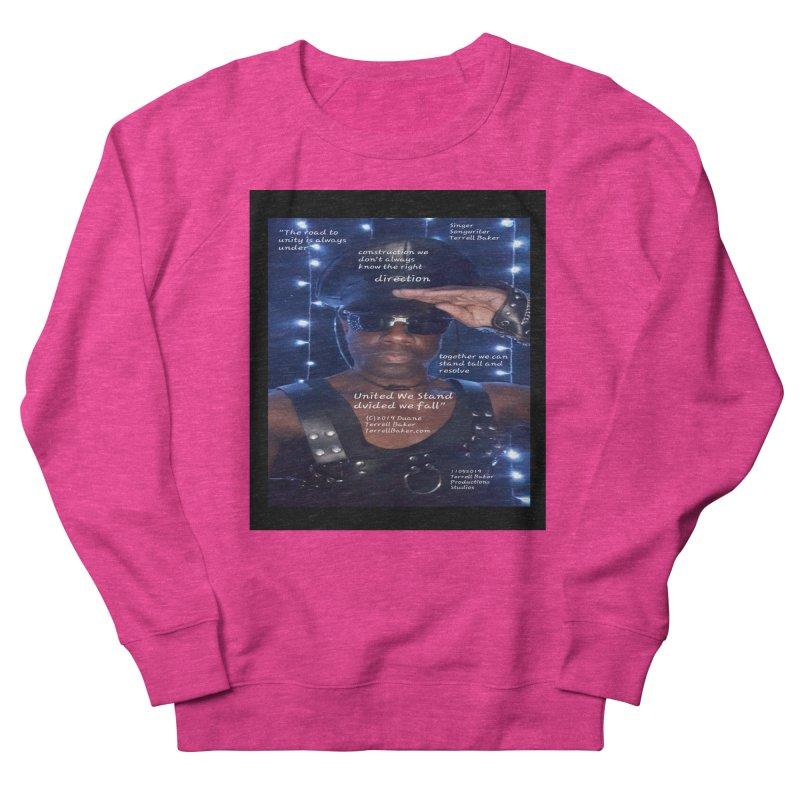 TerrellBaker_UnitedWeStand_LyricPromoArtwork11052019_3897_4481_ImHereAlbum Men's French Terry Sweatshirt by Duane Terrell Baker - Authorized Artwork, etc