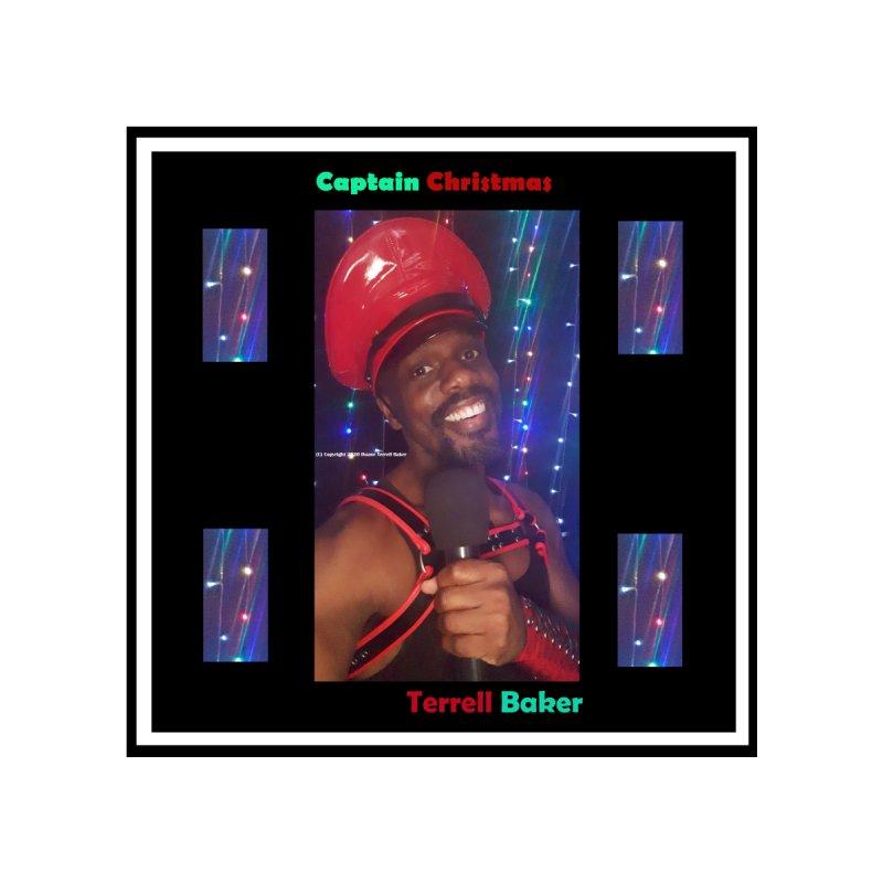 CaptainChristmas__TerrellBaker_AlbumArtworkForMerchandiseStore_Option1_06152020_3000__3000 Men's T-Shirt by Duane Terrell Baker - Authorized Artwork, etc