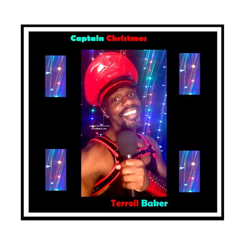 06152020 4200 4200 Captain Christmas Album Offical Artwork Terrell Baker Kids T-Shirt by Terrell Baker Productions Studios TerrellBaker.com