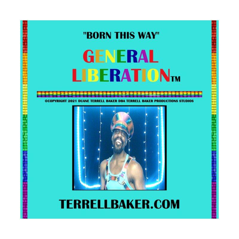 BORNTHISWAY_GLIBERATION_MERCH_TEALBKDRP Men's Sweatshirt by Terrell Baker Productions Studios TerrellBaker.com