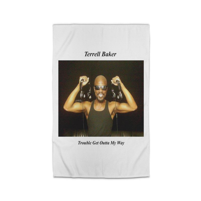 TerrellBaker_2018_TroubleGetOuttaMyWayAlbum_NoSongList_MerchandiseArtwork Home Rug by Duane Terrell Baker - Authorized Artwork, etc