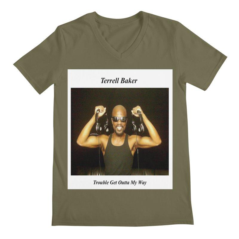 TerrellBaker_2018_TroubleGetOuttaMyWayAlbum_MerchandiseArtwork Men's V-Neck by Duane Terrell Baker - Authorized Artwork, etc
