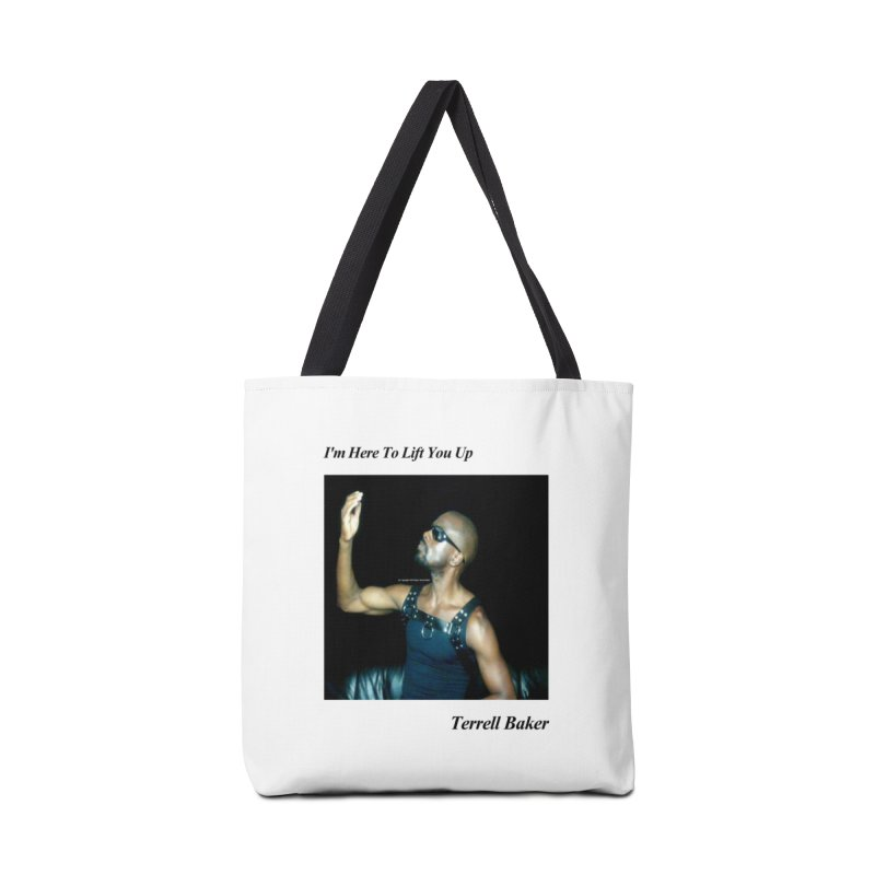 TerrellBaker_2019_ImHereToLiftYouUpAlbum_NoSongList_MerchandiseArtwork Accessories Tote Bag Bag by Duane Terrell Baker - Authorized Artwork, etc