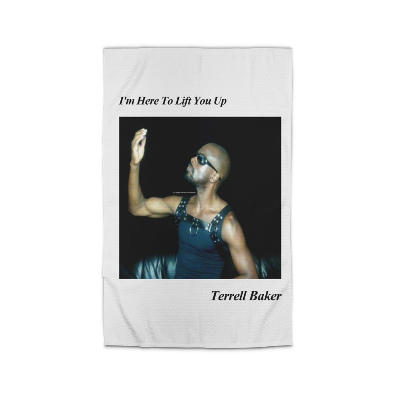 TerrellBaker_2019_ImHereToLiftYouUpAlbum_NoSongList_MerchandiseArtwork Home Rug by Duane Terrell Baker - Authorized Artwork, etc