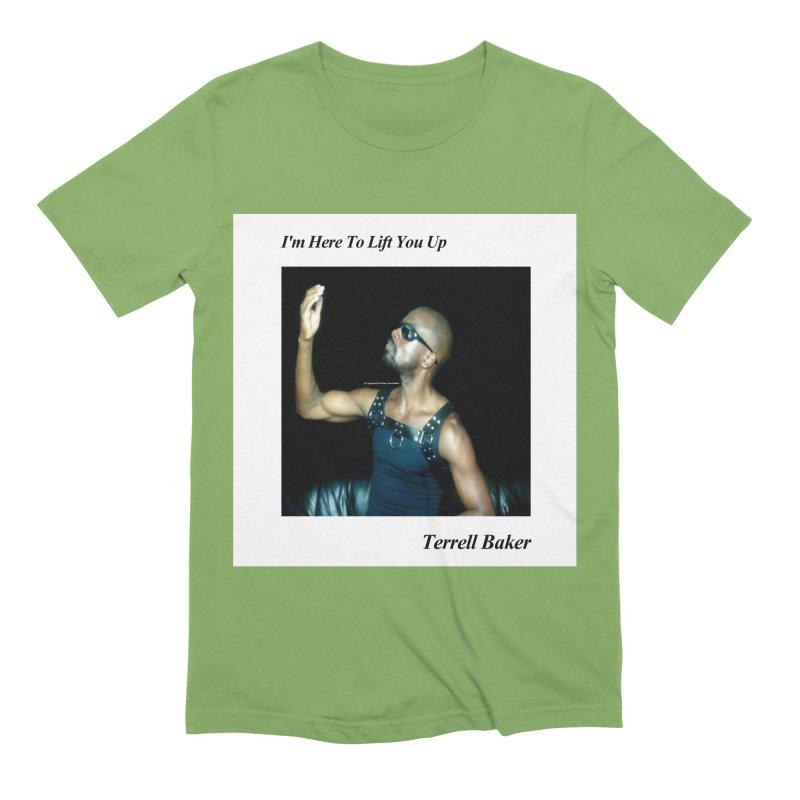 TerrellBaker_2019_ImHereToLiftYouUpAlbum_NoSongList_MerchandiseArtwork Men's Extra Soft T-Shirt by Duane Terrell Baker - Authorized Artwork, etc