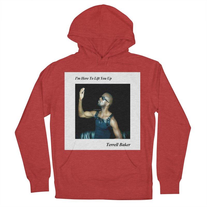 TerrellBaker_2019_ImHereToLiftYouUpAlbum_NoSongList_MerchandiseArtwork Men's French Terry Pullover Hoody by Duane Terrell Baker - Authorized Artwork, etc