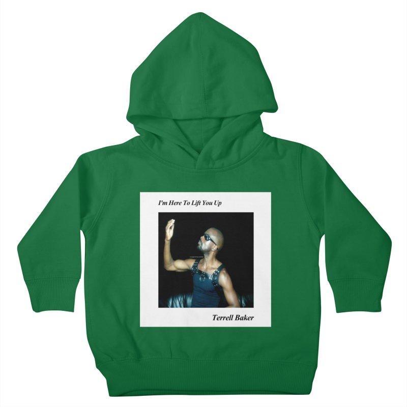 TerrellBaker_2019_ImHereToLiftYouUpAlbum_NoSongList_MerchandiseArtwork Kids Toddler Pullover Hoody by Duane Terrell Baker - Authorized Artwork, etc