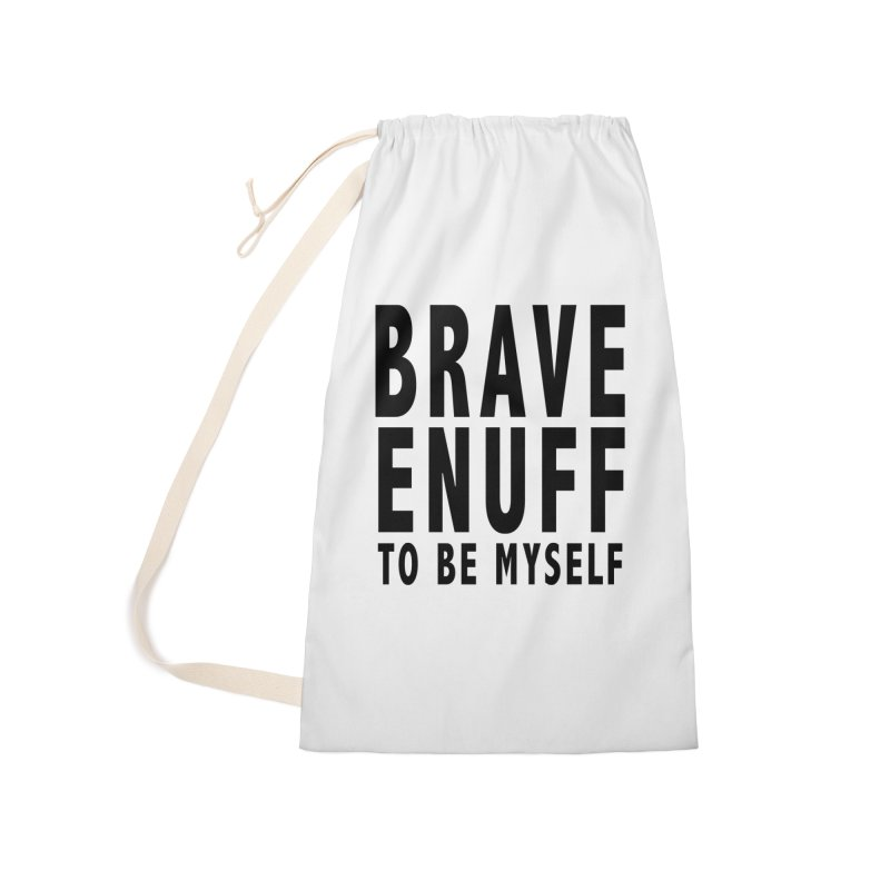 Brave Enuff Blk Accessories Bag by Terry Bradford Store