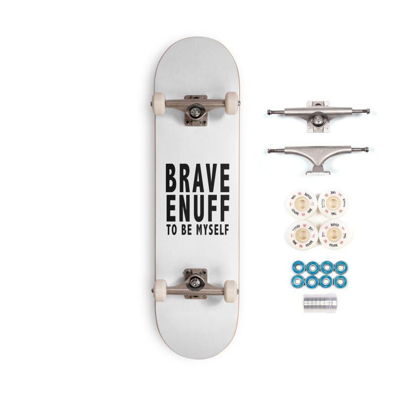Brave Enuff Blk Accessories Complete - Premium Skateboard by Terry Bradford Store