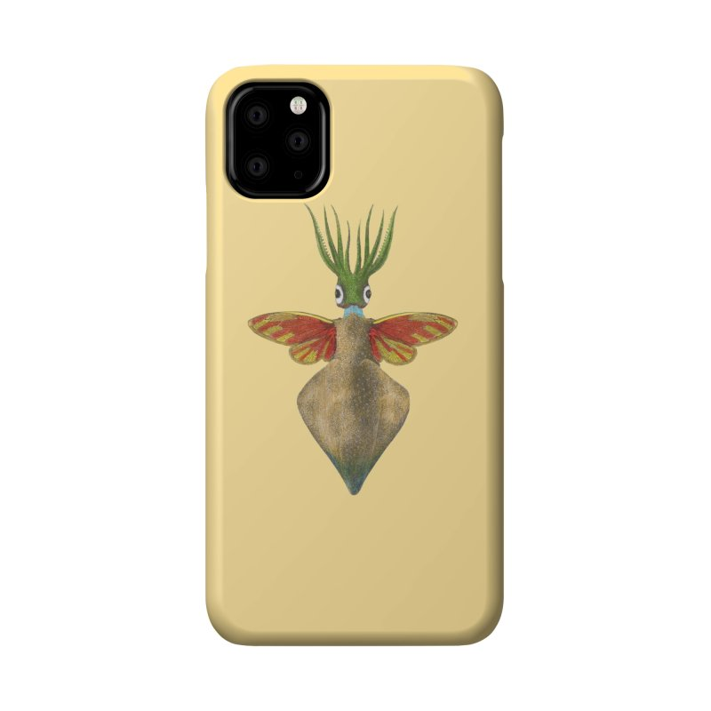 Winged Cuttlefish Accessories Phone Case by TeeGoo's Shop