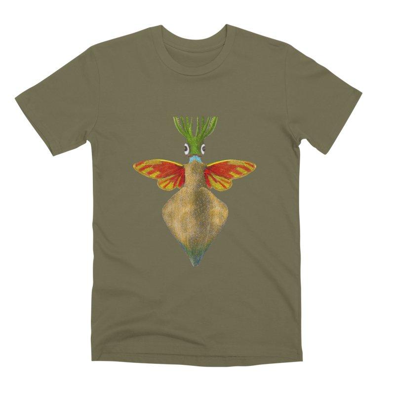 Winged Cuttlefish Men's Premium T-Shirt by TeeGoo's Shop